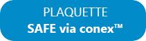 SAFE via conex™ - information déclarations sécuritaire